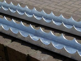 Razor Channel Security Spikes For Wall Gate Roof