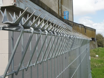 Anti Climb Spikes Add Deterrence To Perimeter Security